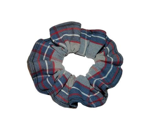 FCA Plaid Scrunchie