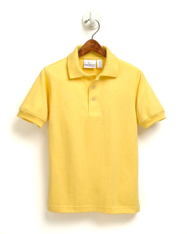 Yellow Polo W/ Logo