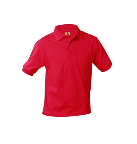 Red Polo W/ Logo