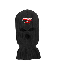 SKI MASK (BLACK/RED)