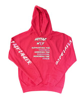 Load image into Gallery viewer, F🎀CK CANCER HITTAZ WAY HOODIE
