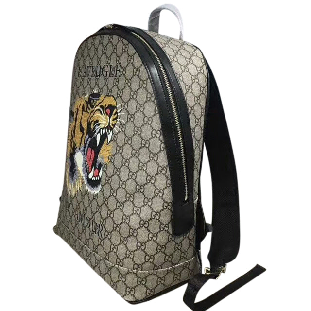 Men s Gucci Tiger Print Supreme Backpack - Members Only Lux