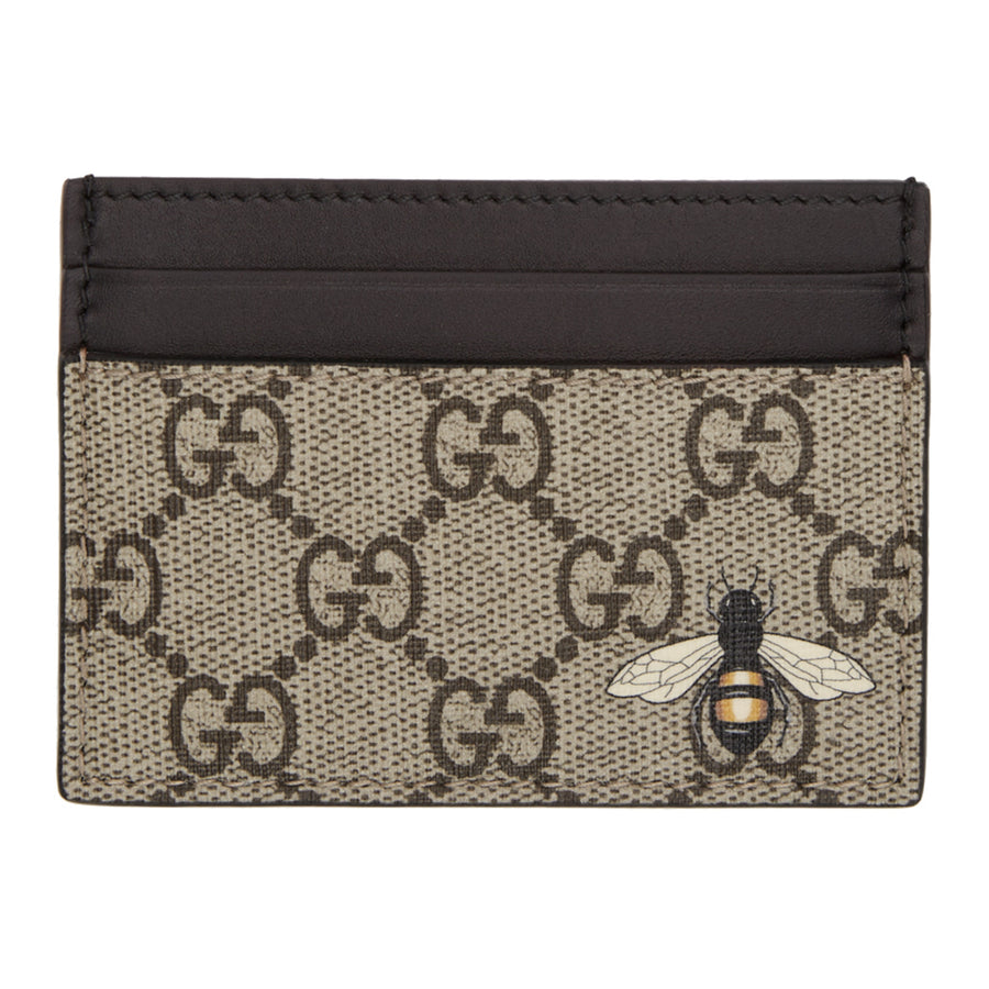 b2321fb4bef4 Men s Gucci GG Supreme Wallet With Wolf - Members Only Lux