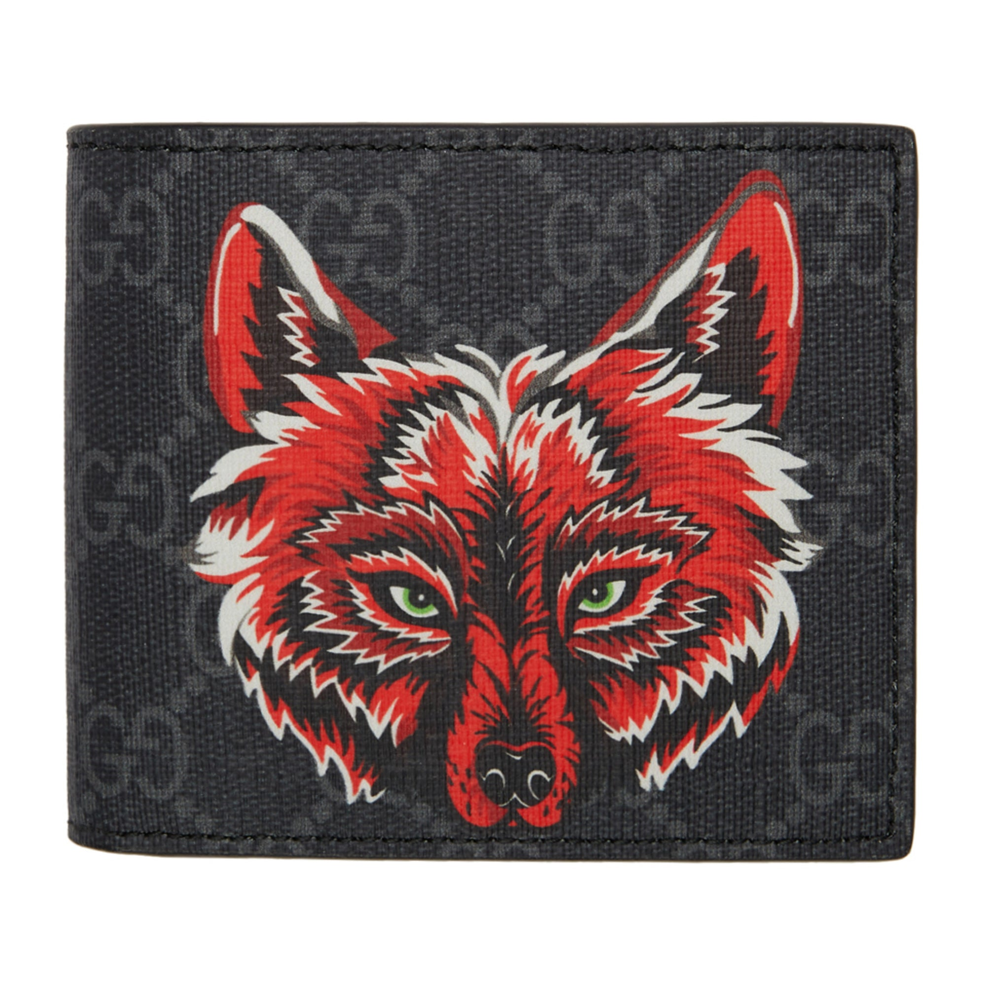 77cc418797da3 Men s Gucci GG Supreme Wallet With Wolf - Members Only Lux