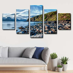 Beach 5-Piece Canvas Wall Art Set