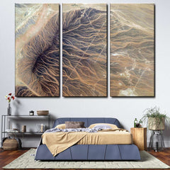 Aerial Photography 3-Piece Canvas Wall Art Set