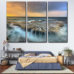 Beach 3-Piece Canvas Wall Art Set