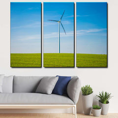 Windmill 3-Piece Canvas Wall Art Set