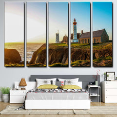 Lighthouse 5-Piece Canvas Wall Art Set