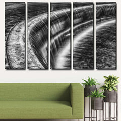 Waterfall 5-Piece Canvas Wall Art Set