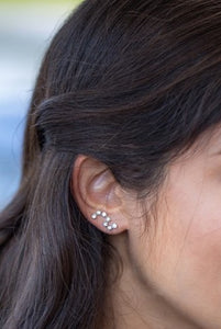 North Star Earrings in Three Colors
