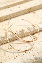 Load image into Gallery viewer, Helsinki Earring Collection: Oblong Hoops
