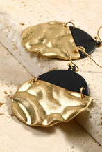 Load image into Gallery viewer, Helsinki Earring Collection: Gold and Black Circle