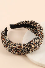 Load image into Gallery viewer, Venice Beach Accessory Collection: Leopard Print Headband