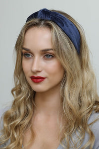 Gig Harbor Velvet Knotted Headband in Three Colors