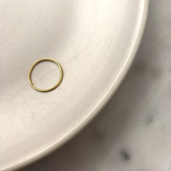 Paris Jewelry Collection: Simple Stacking Ring