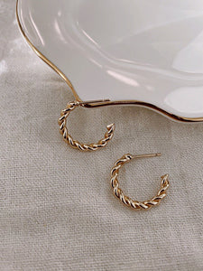Paris Jewelry Collection: Twist Mini Hoops