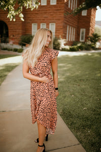 Main Street Patterned Dress