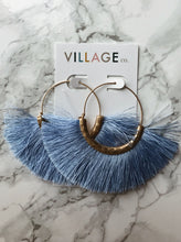 Load image into Gallery viewer, St. George Fan Earrings in 3 Colors