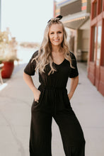 Load image into Gallery viewer, Bentonville Jumpsuit in Black