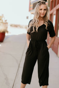 Bentonville Jumpsuit in Navy