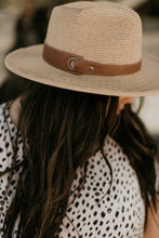 Load image into Gallery viewer, Venice Beach Accessory Collection: Leather Strap Panama Hat