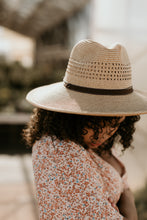 Load image into Gallery viewer, Clearwater Straw Panama Hat