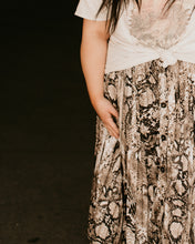 Load image into Gallery viewer, Maui Snakeskin Skirt