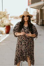 Load image into Gallery viewer, Mykonos Animal Print Dress
