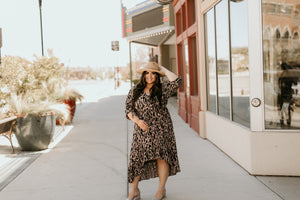Mykonos Animal Print Dress