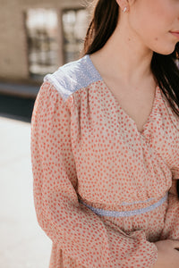 Mackay Long Sleeve Patterned Dress