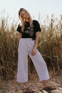 "Brighton Grey ""Sweatpant Culottes"""