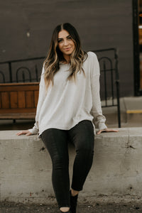 Rosalie Everyday Sweater in Black