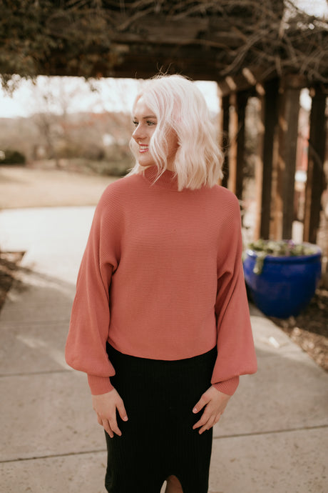 Bristol Bubble Sleeve Sweater