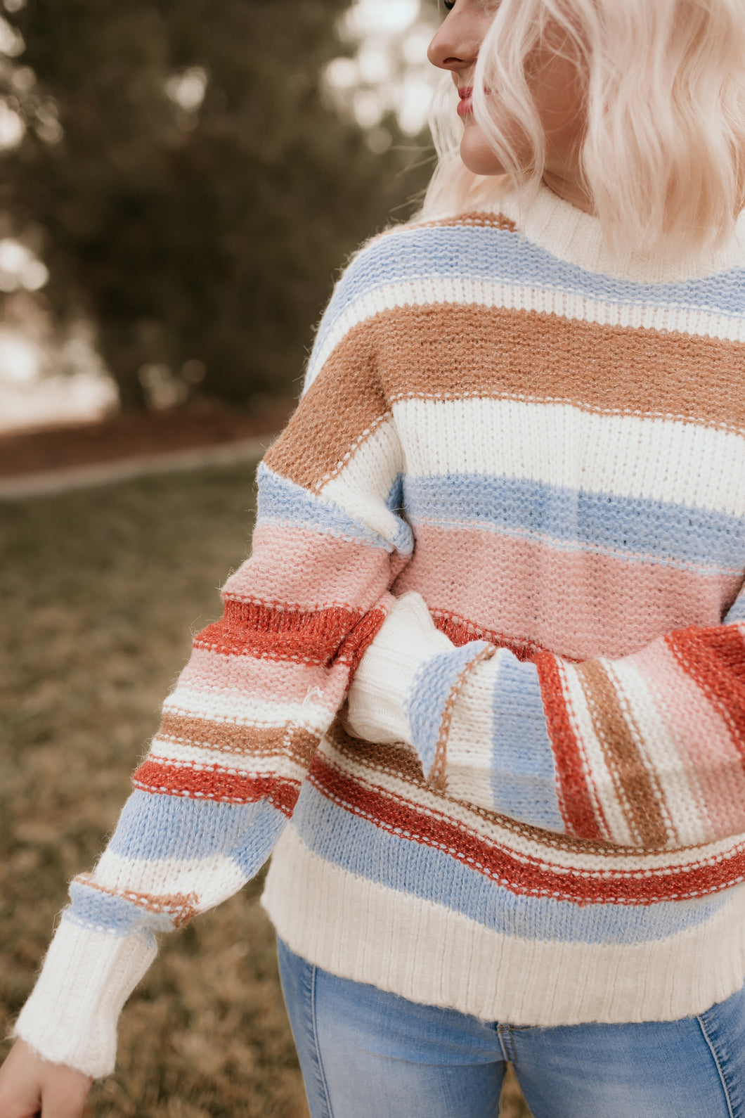 Dupont Circle Striped Sweater
