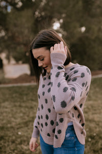 Berkley Animal Print Sweater