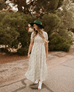 Kaysville Floral Maxi Dress