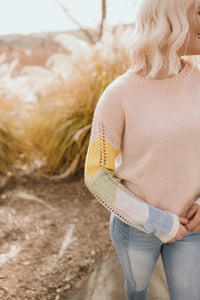 Brooklyn Pastel Knit Sweater
