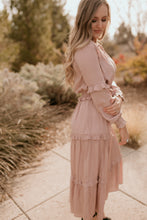 Load image into Gallery viewer, Luca Dusty Rose Maxi Dress