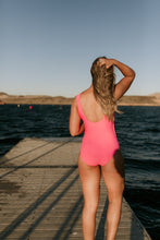 Load image into Gallery viewer, Coachella Swimsuit in Barbie Pink