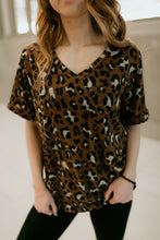 Load image into Gallery viewer, Mitchell Leopard Print Top