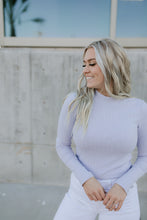 Load image into Gallery viewer, Montgomery Lavender Long Sleeve Top