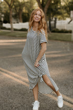 Load image into Gallery viewer, Okoboji Striped Maxi Dress