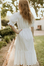 Load image into Gallery viewer, Hilton Head White Eyelet Dress