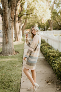 Quebec Striped Sweater Dress