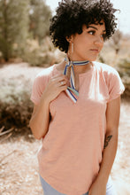 Load image into Gallery viewer, Roxbury Retro Striped Skinny Scarf