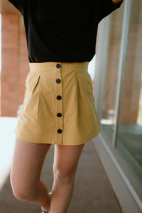 Malibu Button Down Skort