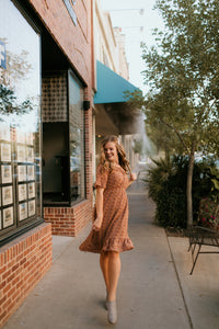 King Street Swiss Dot Dress
