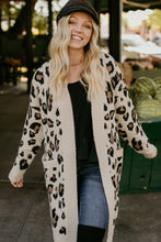Load image into Gallery viewer, Sheridan Cream Leopard Cardigan