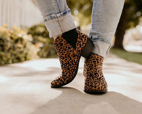 Dilworth Leopard Booties